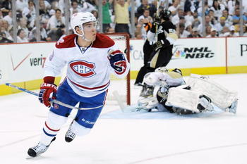 Mike Cammalleri's 13 goals was tops in the 2010 Stanley Cup Playoffs.
