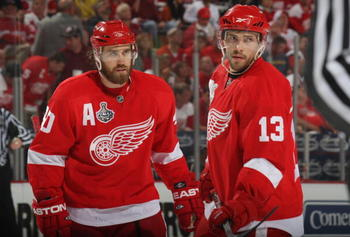 Both Red Wing players Pavel Datsyuk and Henrik Zetterberg can take over the playoffs if given the chance.