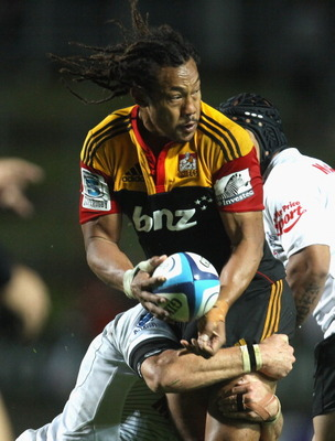 Tana Umaga has looked surprisingly good in his Super Rugby comeback this year.