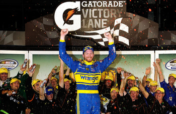 Junior's last win came in Daytona's Nationwide race last July.