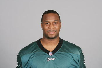 PHILADELPHIA - 2009:  Bryan Smith of the Philadelphia Eagles poses for his 2009 NFL headshot at photo day in Philadelphia, Pennsylvania.  (Photo by NFL Photos)