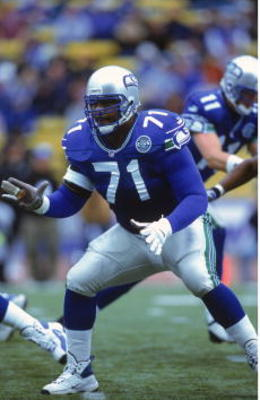 Perhaps the best left tackle in NFL history.