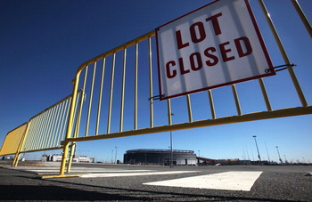 Photo of the New Meadowlands Stadium Closed because of the NFL Lockout