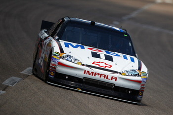FORT WORTH, TX - APRIL 08:  Tony Stewart drives the #14 Mobil 1/Office Depot Chevrolet during practice for the NASCAR Sprint Cup Series Samsung Mobile 500 at Texas Motor Speedway on April 8, 2011 in Fort Worth, Texas.  (Photo by Chris Graythen/Getty Image