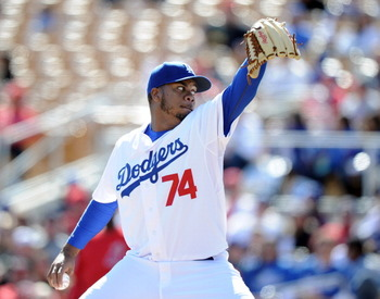 Kenley Jansen could be the Dodgers' closer in the not-too-distant future.