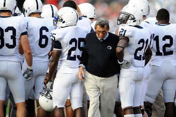 Joe Paterno and the Lions look to bounce back from a dissappointing 2010 season.
