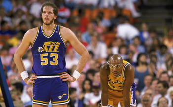 Mark Eaton was the most dominating center the Jazz have ever had