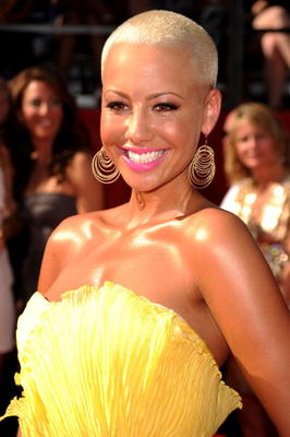 LOS ANGELES, CA - JULY 14:  Model Amber Rose arrives at the 2010 ESPY Awards at Nokia Theatre L.A. Live on July 14, 2010 in Los Angeles, California.  (Photo by Jason Merritt/Getty Images)