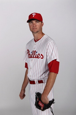 CLEARWATER, FL - FEBRUARY 22:  Ryan Madson #46 of the Philadelphia Phillies poses for a photo during Spring Training Media Photo Day at Bright House Networks Field on February 22, 2011 in Clearwater, Florida.  (Photo by Nick Laham/Getty Images)