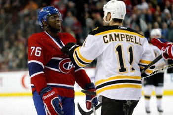PK Subban has the ability to get under opponent's skin and to score as well.