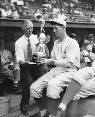 Connie Mack and Lefty Grove