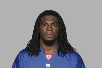 EAST RUTHERFORD, NJ - 2009:  Robert Henderson of the New York Giants poses for his 2009 NFL headshot at photo day in East Rutherford, New Jersey.  (Photo by NFL Photos)