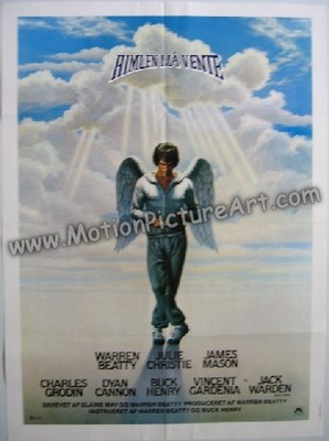 photo courtesy http://www.motionpictureart.com/Heaven-Can-Wait-Movie-Poster-p-220045.html