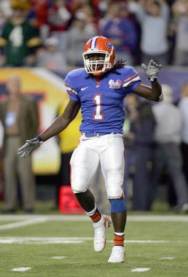 A one-time Thorpe-Award-winner, Reggie Nelson is one of the best safeties in Gator history.