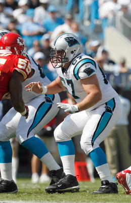 Kalil should start at center for the Panthers for the next six to eight years