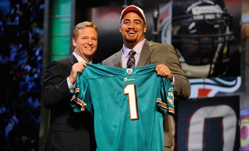 Miami solidified it's defense in last years draft. Now they must focus on the offense