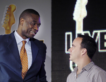 Dave and Dikembe Mutombo are having a moment.