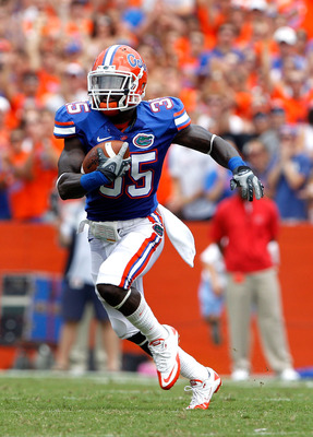 One of former coach Urban Meyer's all-time favorite players, Ahmad Black was a playmaker for Florida.