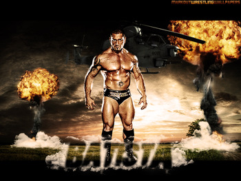 A true animal, Batista has gone on to MMA which will hopefully show some of the MMA guys Wrestlers are tough also.