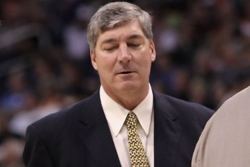 PHOENIX - MARCH 16:  Head coach Kurt Rambis and Bill Laimbeer of the Minnesota Timberwolves during the NBA game against the Phoenix Suns at US Airways Center on March 16, 2010 in Phoenix, Arizona. The Suns defeated the Timberwolves 152-114.  NOTE TO USER: