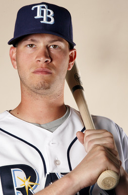 FT. MYERS, FL - FEBRUARY 22:  Reid Brignac #15 of the Tampa Bay Rays poses for a portrait during the Tampa Bay Rays Photo Day on February 22, 2011 at the Charlotte Sports Complex in Port Charlotte, Florida.  (Photo by Elsa/Getty Images)