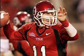 The last truly good, well-coached team that Alex Smith played for was at the University of Utah. Smith was successful enough for the Utes to become the No. 1 overall pick in the NFL draft.
