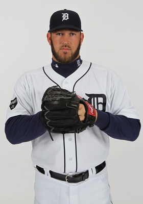 LAKELAND, FL - FEBRUARY 21:  Brad Penny #31 of the Detroit Tigers poses for a portrait during Photo Day on February 21, 2011 at Joker Marchant Stadium in Lakeland, Florida.  (Photo by Nick Laham/Getty Images)