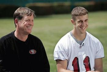 Alex Smith was a pretty good NFL quarterback when Norv Turner was with the 49ers.