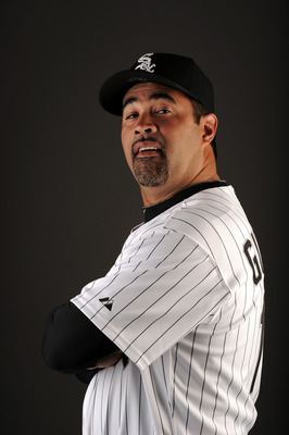GLENDALE, AZ - FEBRUARY 26:  Manager Ozzie Guillen #13 of the Chicago White Sox poses for a photo on photo day at Camelback Ranch on February 26, 2011 in Glendale, Arizona.  (Photo by Harry How/Getty Images)