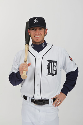 LAKELAND, FL - FEBRUARY 21:  Will Rhymes #28 of the Detroit Tigers poses for a portrait during Photo Day on February 21, 2011  at Joker Marchant Stadium in Lakeland, Florida.  (Photo by Nick Laham/Getty Images)