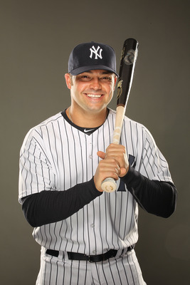 TAMPA, FL - FEBRUARY 23:  Nick Swisher #33 of the New York Yankees poses for a portrait on Photo Day at George M. Steinbrenner Field on February 23, 2011 in Tampa, Florida.  (Photo by Al Bello/Getty Images)