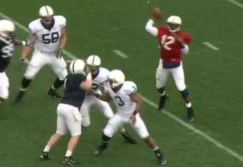 Penn States offensive line did ok given the circumstances.