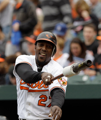 Vladimir Guerrero's time in Baltimore could be short-lived.