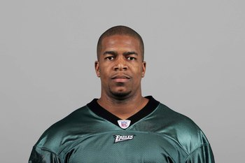 PHILADELPHIA - 2007:  Jerome McDougle of the Philadelphia Eagles poses for his 2007 NFL headshot at photo day in Philadelphia, Pennsylvania.  (Photo by Getty Images)