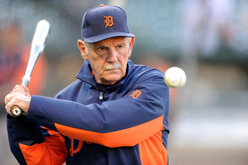 He may be older, but Jim Leyland is still youthful at heart.