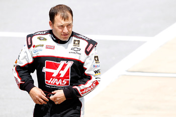 TALLADEGA, AL - APRIL 16:  Ryan Newman, driver of the #39 Haas Automation Chevrolet, walks on the grid during qualifying for the NASCAR Sprint Cup Series Aaron's 499 at Talladega Superspeedway on April 16, 2011 in Talladega, Alabama.  (Photo by Todd Warsh