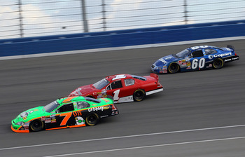 Danica has struggled on the flatter tracks on NASCAR Nationwide circuit.