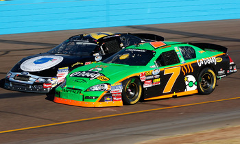 This will be Danica Patrick's third appearance in Phoenix with NASCAR Nationwide.