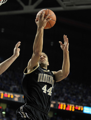 LEXINGTON, KY - MARCH 01:  Jeffery Taylor #44 of the Vanderbilt Commodores shoots the ball during the SEC game against the Kentucky Wildcats  at Rupp Arena on March 1, 2011 in Lexington, Kentucky.  (Photo by Andy Lyons/Getty Images)