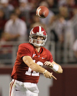 Is Greg McElroy the next Tom Brady?