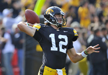 Iowa's Ricky Stanzi just missed the cut.
