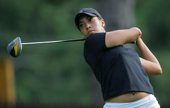 PITTSFORD, NY - JUNE 25:  Cheyenne Woods of the USA during the first round of the Wegmans LPGA at Locust Hill Country Club held on June 25, 2009 in Pittsford, NY.  (Photo by Michael Cohen/Getty Images)