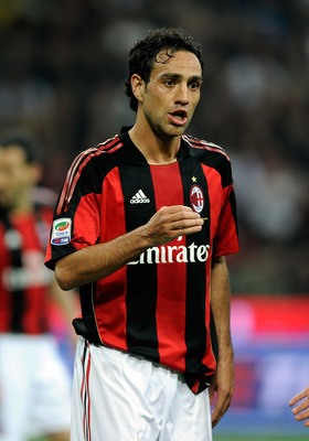 MILAN, ITALY - APRIL 02:  Alessandro Nesta of AC Milan during the Serie A match between AC Milan and FC Internazionale Milano at Stadio Giuseppe Meazza on April 2, 2011 in Milan, Italy.  (Photo by Claudio Villa/Getty Images)