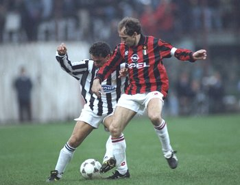 Franco Baresi, the heart of AC Milan's legendary defence