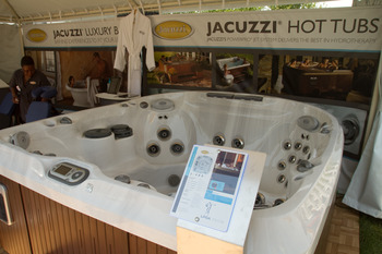 SPRINGFIELD, IL - JUNE 11: A jacuzzi sponsor tent is seen during the second round of the LPGA State Farm Classic at Panther Creek Country Club on June 11, 2010 in Springfield, Illinois. (Photo by Darren Carroll/Getty Images)