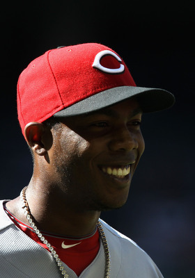PHOENIX, AZ - APRIL 10:  Relief pitcher Aroldis Chapman #54 of the Cincinnati Reds during the Major League Baseball game against the Arizona Diamondbacks at Chase Field on April 10, 2011 in Phoenix, Arizona. The Diamondbacks defeated the Reds 10-8.  (Phot