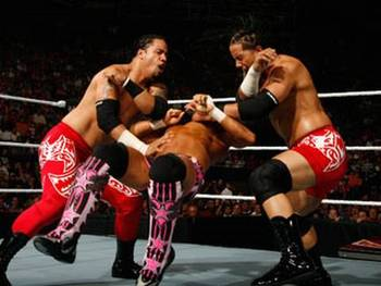 Back when the Hart Dynasty was together, the Usos had the potentail of being the next top tag team, and Chris Jericho was still in the WWE. My how times have changed.