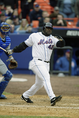 Mo Vaughn spent parts of two seasons with the New York Mets.