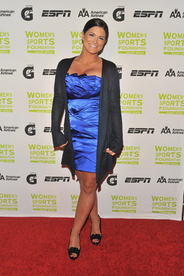 NEW YORK - OCTOBER 13:  Mixed martial arts fighter Gina Carano attends the 30th Annual Salute To Women In Sports Awards at The Waldorf=Astoria on October 13, 2009 in New York City.  (Photo by Andrew H. Walker/Getty Images for the Women�s Sports Foundation