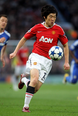 Ji-Sung Park is the go-to-guy at Old Trafford